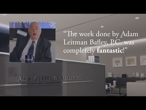 """""""Adam Leitman Bailey, P.C. are fighters, and fighters always fight."""" testimonial video thumbnail"""