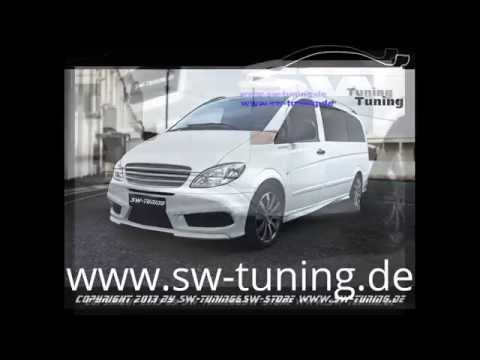 SWT-Look Bodykit für Mercedes Vito W639 by SW-Tuning