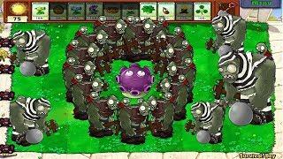 Plants Vs Zombies Hack - Gloom-Shroom vs Giga-Gargantuar