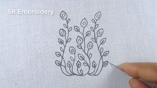 Hand Embroidery Patterns,Easy Beautiful Flower Embroidery Design,Flower Embroidery Tutorial