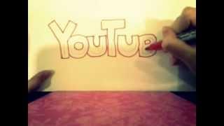 Como hacer letra doble (Fácil y Rápido)