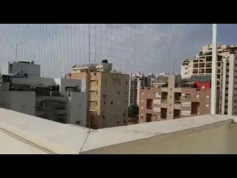 רשת יונים לגגות ומרפסות
