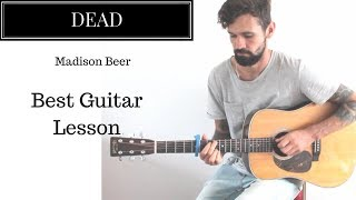 Madison Beer - Dead Guitar Lesson by Adam Woolhouse