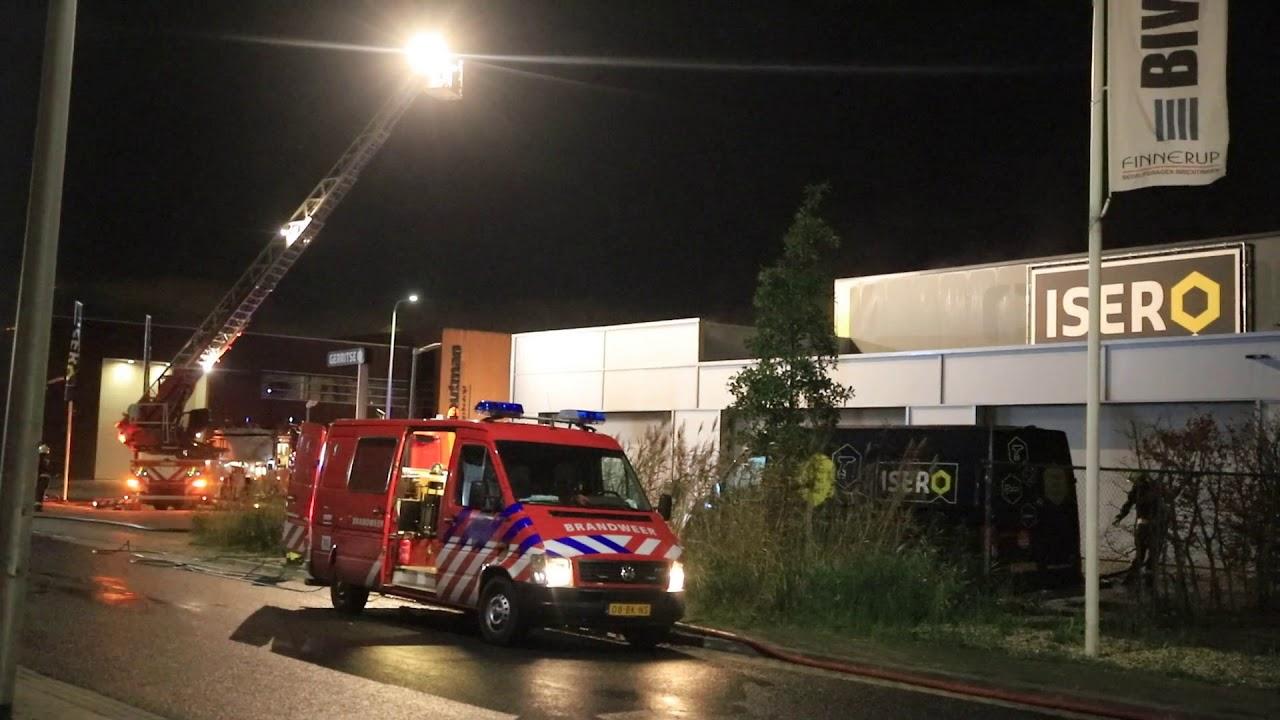 04-11-2020 Zeer grote brand in Gouda – deel 1: Voor de vlammen
