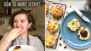 How To Make Fruit Scones - Back To Basics