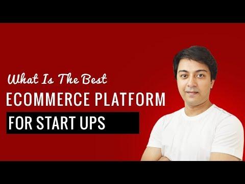 Best E-commerce platform for startups small business