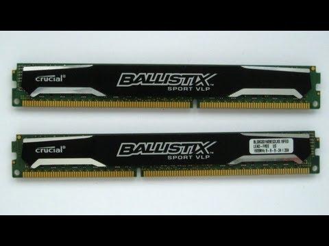 Crucial Ballistix Sport VLP 8GB Kit DDR3 RAM [Overview]