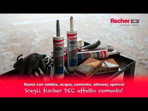 Il nuovo Cemento Espresso Fischer DEC