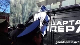 Дарт Вейдер предлагает одесситам выгнать Михо Сакашвили