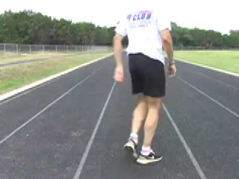 Running Backward Drill to Improve Biomechanical Form