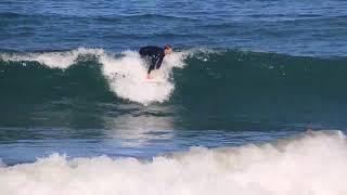 Surfing Torrance beach