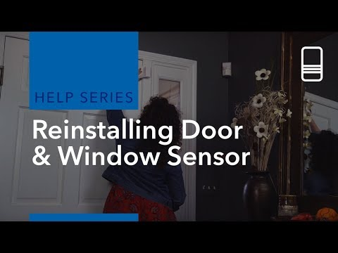 Reinstalling a Door & Window Sensor