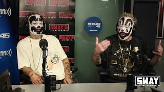 ICP Make Monumental Appearance On Shade45 + Discuss Eminem Beef + Suing The FBI | Sway's Universe