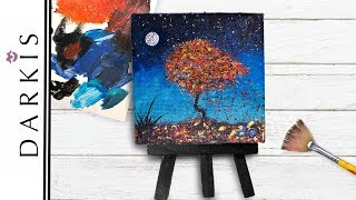 Tiny Canvas Painting | Miniature Canvas Painting Ideas