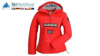 Napapijri, Rainforest anorak, winter jacket, women, pop red