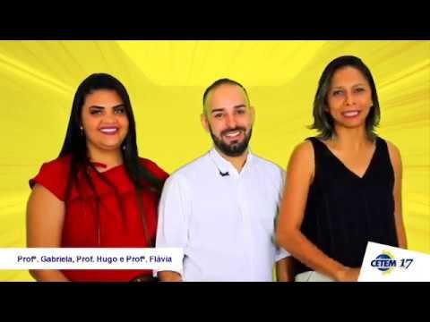 CETEM - Recado Professores Hugo, Gabriela e Flávia