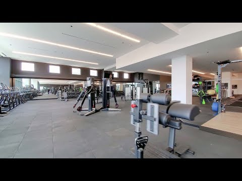 Tour the fitness facilities at the South Loop's iconic new NEMA