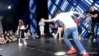 Танцевальный батл на Битве талантов (1x1) — Тоня Володина vs. Арсений Акопян
