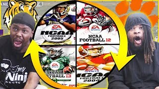 NCAA College Football... But Every Quarter We Spin The Wheel To Change Years! (CRAZY ENDING!)