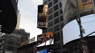 Be part of the FWO Times Square Takeover