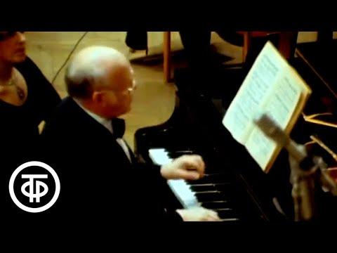 Рихтер играет Баха. Концерт №1 для фортепиано с оркестром / Richter plays Bach. Concerto No 1 (1978)