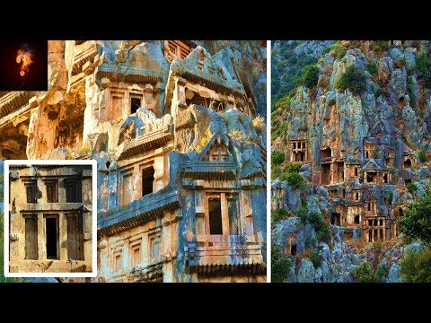 Who Built The Ancient Temples Of Myra?