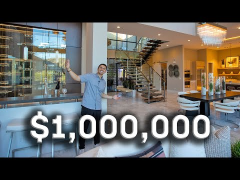 What $1,000,000 buys you in Las Vegas!   Luxury Home Tour