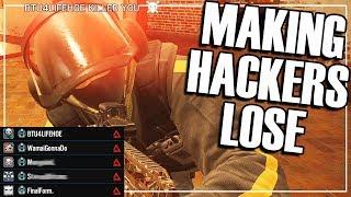 Solo Smurf: I Made Hackers Lose - Rainbow Six Siege