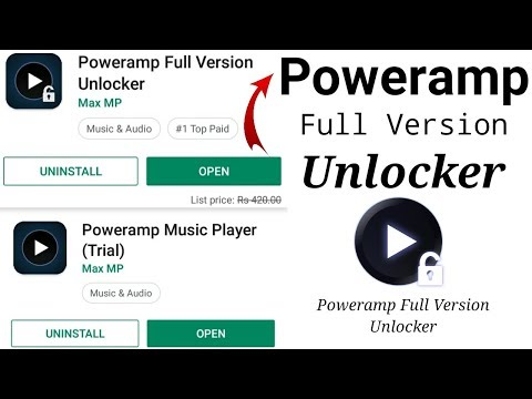 Poweramp Full Version Lifetime Mod Apk 2018 - смотреть