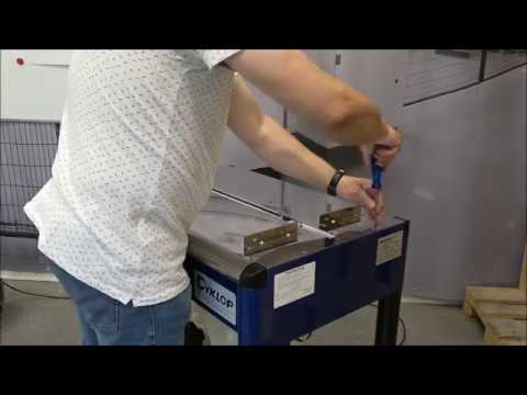 M-Pac V: Cleaning the machine