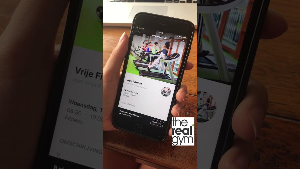 Reserveren via MyWellness app