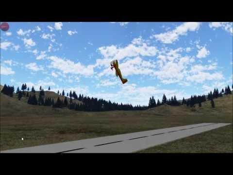 Video of PicaSim: Free flight simulator