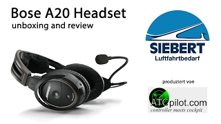 Bose A20 Headset | Unboxing and Review | deutsch