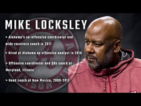 What Mike Locksley can do as Alabama's new offensive coordinator