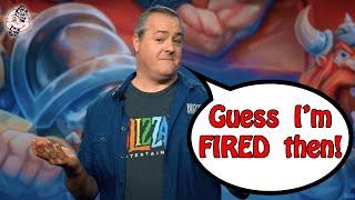BLIZZARD ENTERTAINMENT PRESIDENT [POLITELY FIRED] LEAVES COMPANY!!