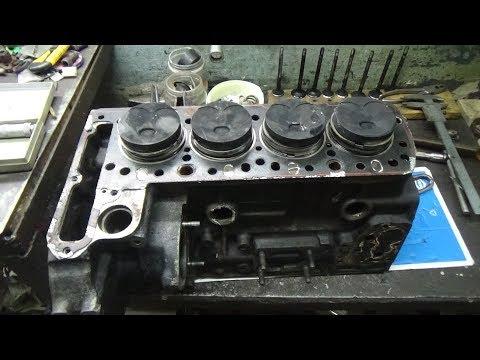 Дефектовка двигателя Мерседес ОМ 615