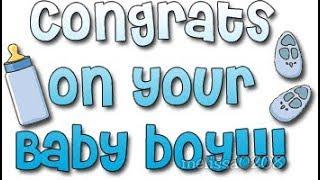 👶🍼 CONGRATS ON YOUR NEW BABY BOY!! 🍼👶 (E-Card Category: Congrats)
