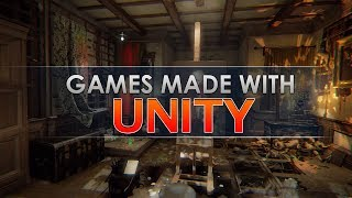 5 Games you didn't realise were made in Unity