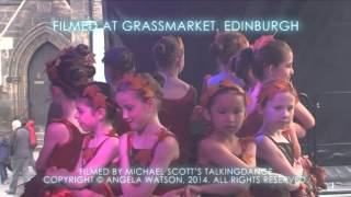 Get Scotland Dancing Grassmarket 2014