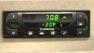 Thermo King - T-Series Standard HMI Driver Operation - Spanish - Part 1 Of 3