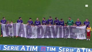 Ciao Davide | Fiorentina pay an emotional tribute to Davide Astori