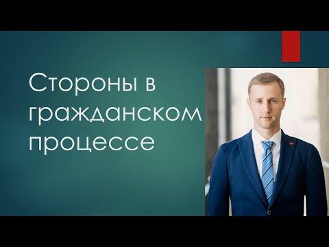 Стороны в гражданском процессе. Шалаевский Николай
