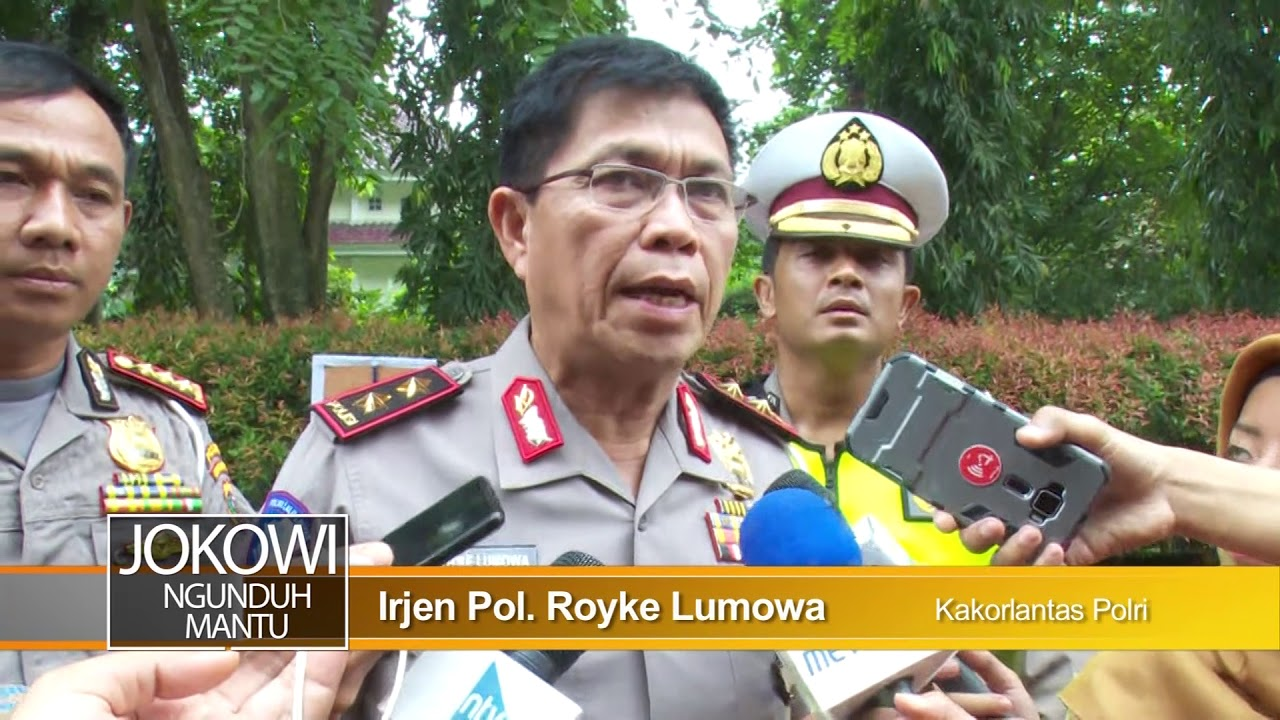 Jokowi Ngunduh Mantu, Pengamanan dan Rekayasa Lalu Lintas Resepsi Bobby Kahiyang
