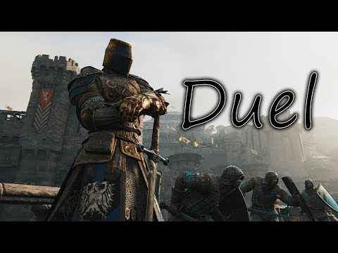 For Honor #9... Rep 1 Black Prior/Vortiger [Black Prior DUEL 1080p 60FPS] CZ