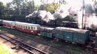 preview picture of video 'Den železnice Jindřichův Hradec 2011 / Railroad Day'
