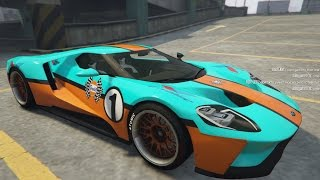 2017 Ford GT Gulf Livery