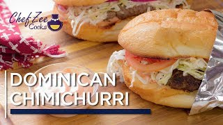 Chimichurri Dominicano | Dominican Chimi | Dominican Street Food | Chef Zee Cooks