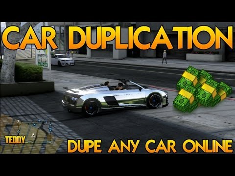 GTA 5 Car Duplication Glitch In GTA 5 Online
