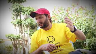 Harris J visits Shahid Afridi Foundation schools in Pakistan