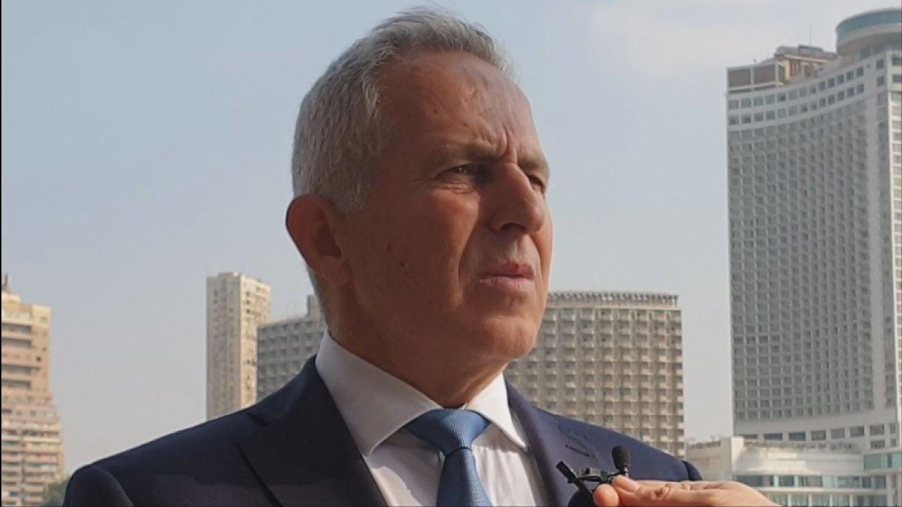 Δηλώσεις του ΥΠΕΘΑ Ευάγγελου Αποστολάκη από το Κάιρο